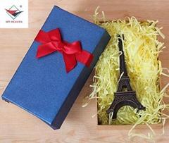 銷售彩色紙絲禮盒填充拉菲草 化妝品盒填充