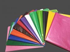 銷售24g彩色蠟光紙 衣服包裝紙 高檔鞋盒填充紙