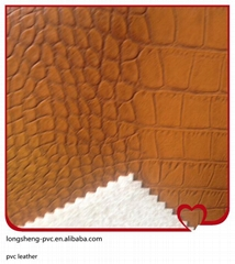 High quality pvc artificial leather for sofa covers made in Jiangyin