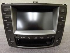 06-09 Lexus IS250 IS350 Navigation OEM GPS Nav Monitor Screen Climate Control $7