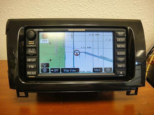 2008-2012 Toyota Tundra Sequoia OEM GPS NAVIGATION SYSTEM E7030 NON JBL   1