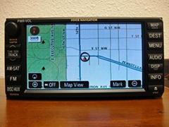 2011-2012 Toyota Sienna OEM GPS Navigation System -NON JBL