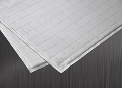 Flexible microporous insulation mat