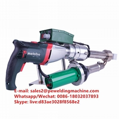hand extrusion welder gun for HDPE PP PVDF sheet pipes and fittings