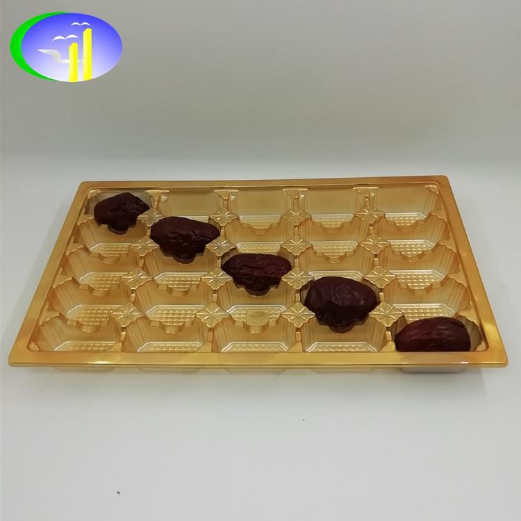 新款16个椰枣吸塑托盘吸塑包装 3