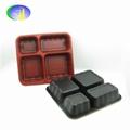 广州工厂直销一次性3格快餐盒