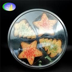 透明PET 曲奇饼干塑料包装盒