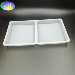 PP material disposable plastic cookie baking insert tray