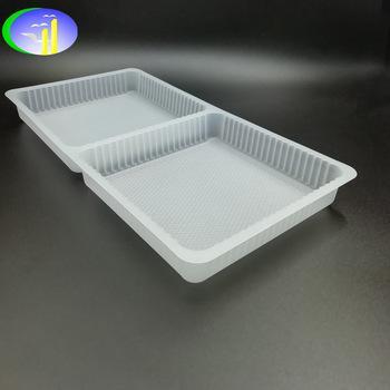 PP料一次性塑料曲奇零食托盘 2