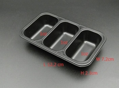 Mini eco-friendly plastic disposable sauce cup