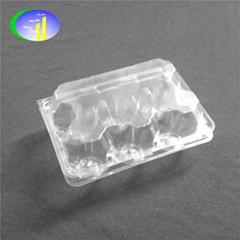 6 pcs Plastic Transparent Egg Container