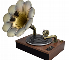 Factory supply Classic Antique gramophone record player retro phonograph