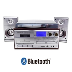 All in one Phonograph Music center VINYL RECORD PLAYER WITH external speakers