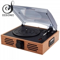 2019 best sale classic wooden turntable