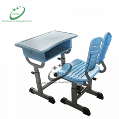 Adjustable Student Desk & Chair for Middle School