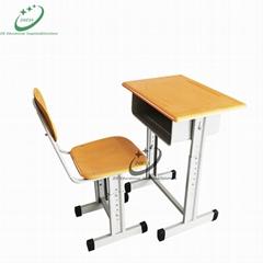 Adjustable School desk & chair for student