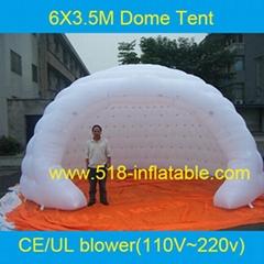 6米广告充气帐篷