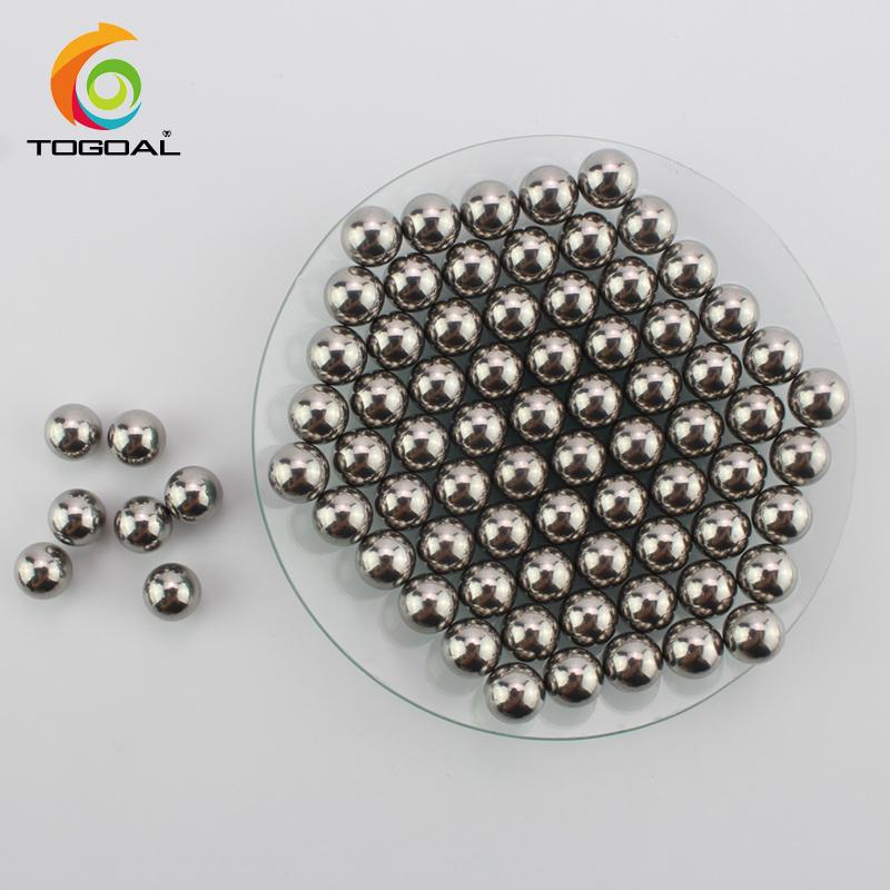 Polished 304 Stainless Steel Grinding Balls for Planetary Ball Mill 1