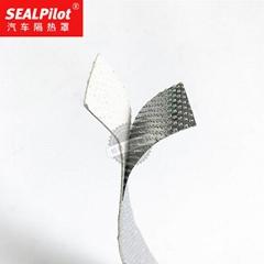 发动机隔热罩 金属复合垫耐高温陶瓷垫 发动机增压器排气管隔热垫
