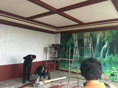 订制生产 竹木纤维集成墙板