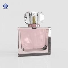 New design glass bottle for perfume