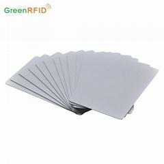 Custom printable Blank white rfid cards iso 125khz tk4100 proximity ID card