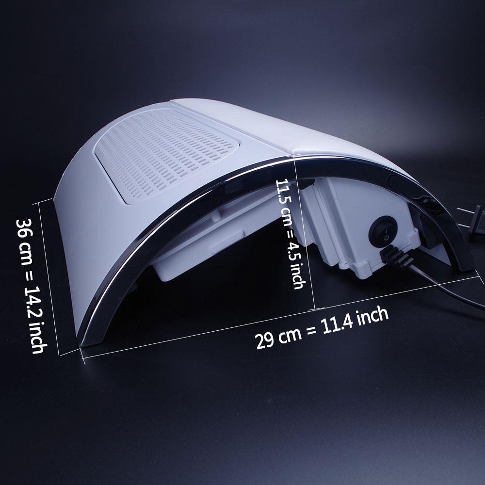 Factory direct nail art three fan vacuum cleaner Nail vacuum cleaner 4