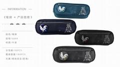 吃鸡系列多功能笔袋小学生文具袋男女生初中生小清新可爱笔盒