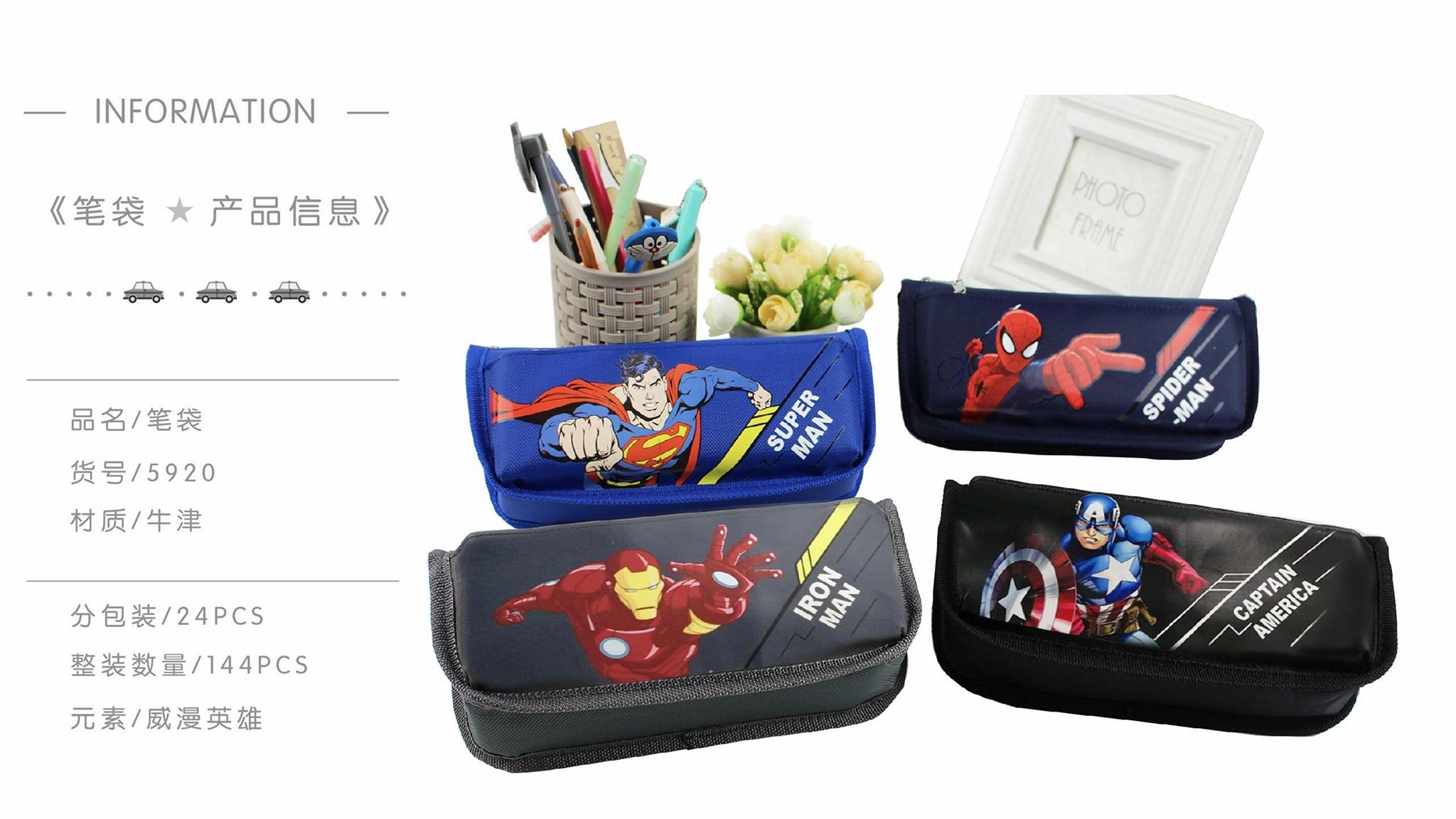 超级英雄系列多功能笔袋大容量笔袋男生笔袋 5