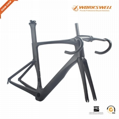 T1100 Full Carbon Road Bike Frame Monocoque Ultralight Carbon Road Bicycle Frame