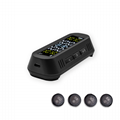 Popular External TPMS Car Solar Power Smart Wireless MINI TPMS Tire Pressure Mon 1