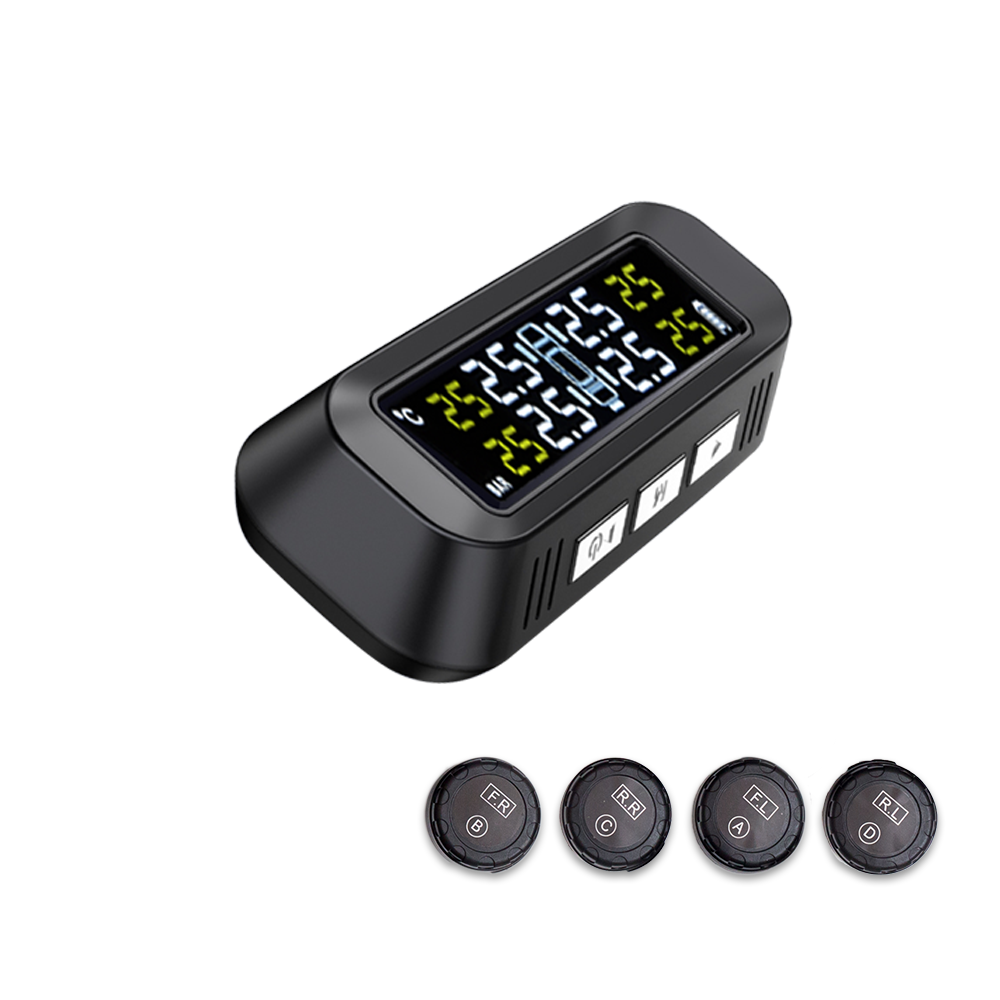 Popular External TPMS Car Solar Power Smart Wireless MINI TPMS Tire Pressure Mon 2