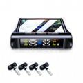 High-quality Smart Wireless Solar-powered Tire Pressure Monitor System Internal  2