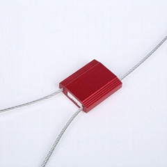 Adjustable Pull Tight Best price High security cable seal with logo barcode