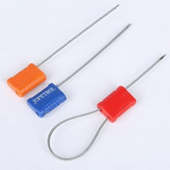 China High security factory price pull tight cable seal with logo barcode