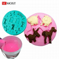 Food grade platinum cured silicone rubber for   food related mold making and sil