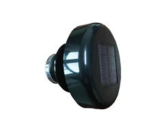 solar motion light for portable toilet