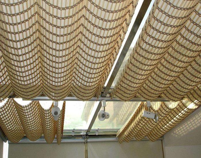 大连竹木卷帘艺术窗帘 1