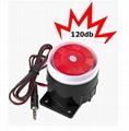 Mini External Speaker Siren Alarm 120db