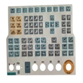 Electrical Membrane Panel Switch Panel Key / Membrane Key Switches 3