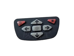 Silicone Rubber Membrane Switch For Controller Use