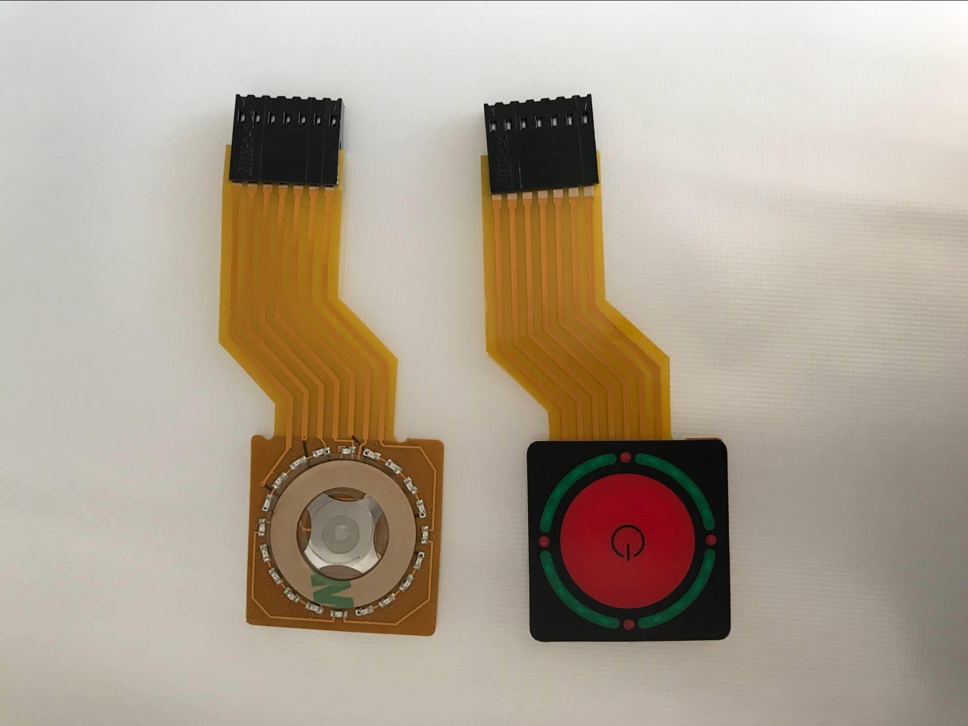 Custom Flexible Membrane Switch with metal domes 4