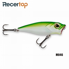 Recertop Big Open Mouth Top water and Ripple Maker Fishing Lure Popper