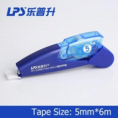 Custom OEM Correction Supplies Products Refillable Correction Tape Pen Type No.T