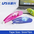 Custom OEM Correction Supplies Products Refillable Correction Tape Pen Type No.T 2