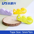 Kawaii Stationery Mini Correction Tape 6m For Student Correction Supplies Insect 2
