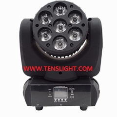 7pcs*10W RGBW 4 in 1 LED Moving Head Wash Light TSL-005