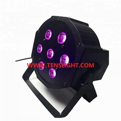 7*10W RGBW 4 in 1 LED Flat Par TSP-002