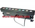 9pcs 10W linear Pixel RGBW 4 in 1 LED Wall Washer TSW-004