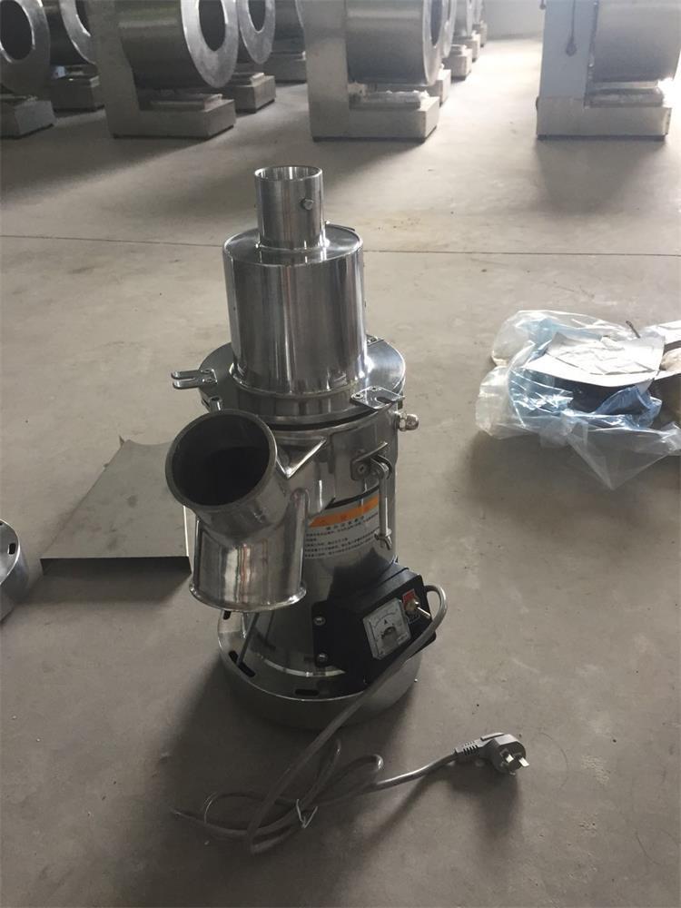 低噪音脆性物料粉碎机 4